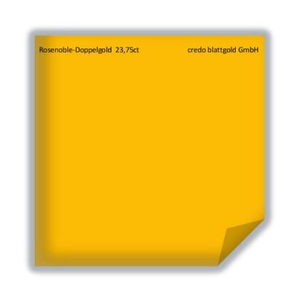Blattgold Rosenobel-Doppelgold extra 23,75 Karat transfer