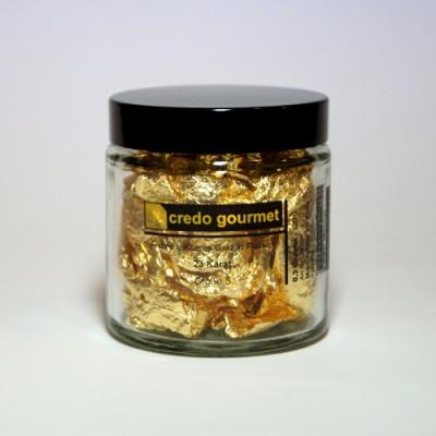 Blattgoldflocken - Schabin - 23 Karat - Größe 5