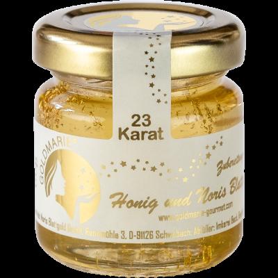 Honig Goldmarie mit 23 Karat essbarem Blattgold