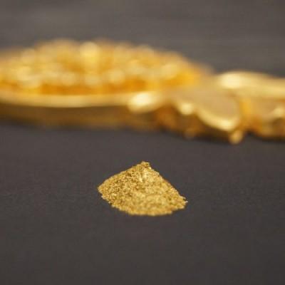 Pudergold in Plättchenform 1-Gramm