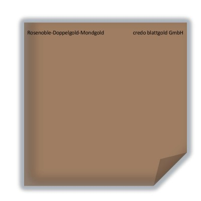 Blattgold Rosenoble-Doppelgold-Mondgold  transfer