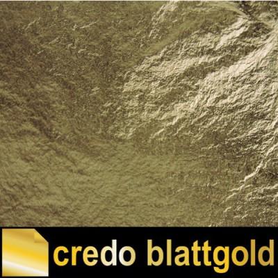 Schlagmetall grüngold Farbe 3 lose