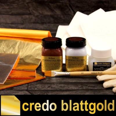 Starterset Vergolder-Set komplett - Blattgold Imitat