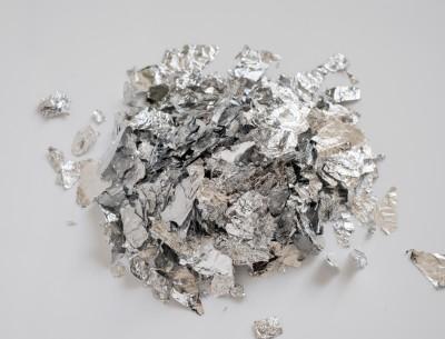 Aluminiumschabin silber