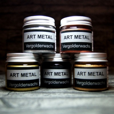 Art Metal Vergolderwachse 5-Set
