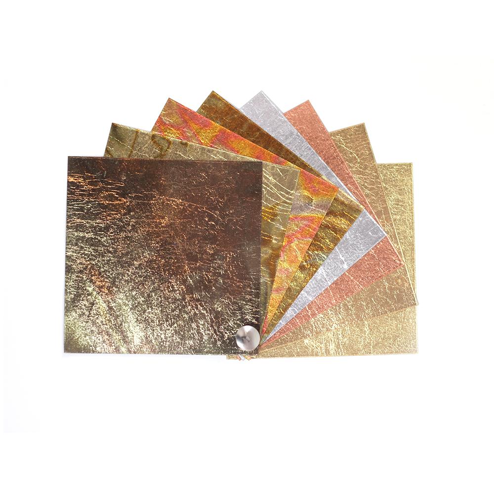 Farbkarte Schlagmetall