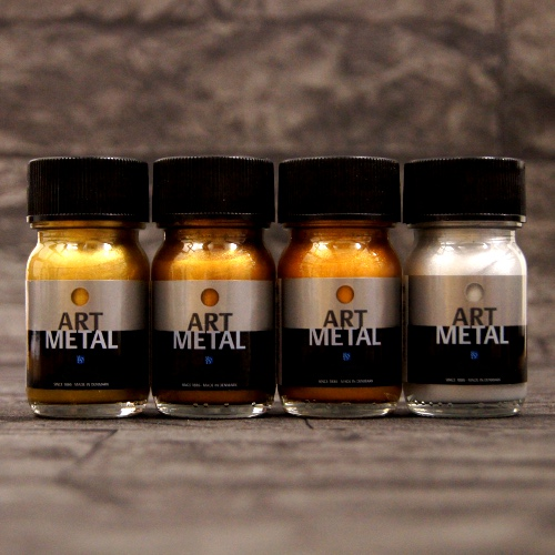 Metallglanzlack Art Metal 4-Set a 30 ml