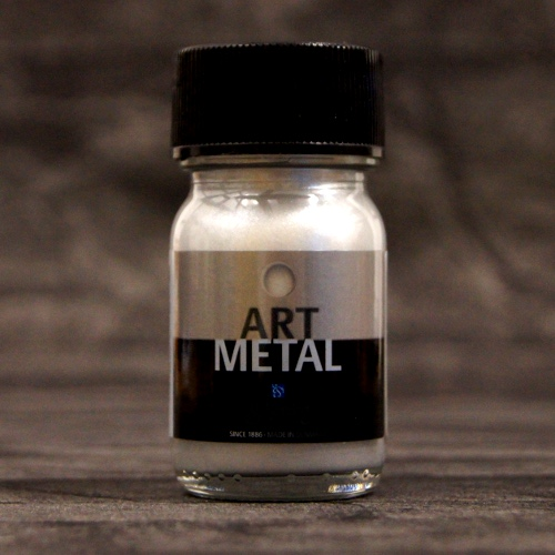 Metallglanzlack Art Metal Silber