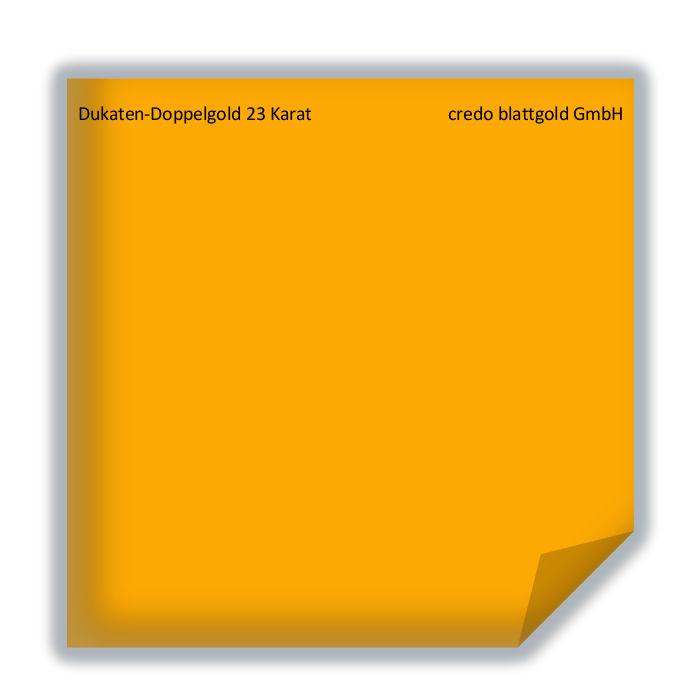 Blattgold Dukaten-Doppelgold 23 Karat Blattgold transfer- 10 Blatt