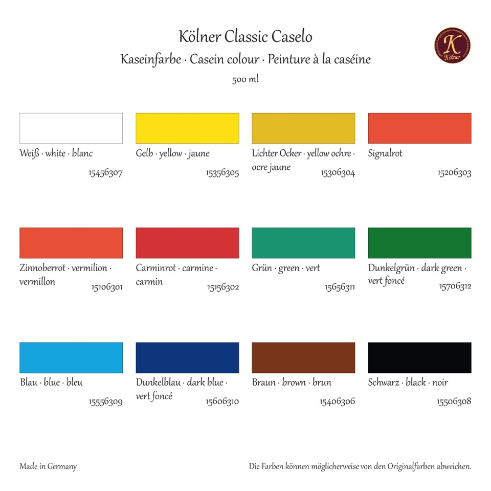 Kölner Classic Caselo Plaka Farbe - online kaufen Credo ...
