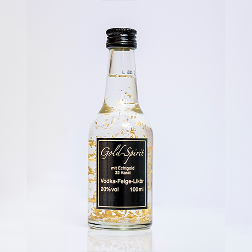 Gold-Spirit Vodka-Feige Likör