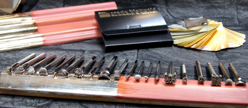 Vergolderzubehör/Werkzeug