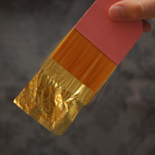 anhebepinsel f r gourmet blattgod essbar f r essbares gold und silber 80 mm ebay. Black Bedroom Furniture Sets. Home Design Ideas