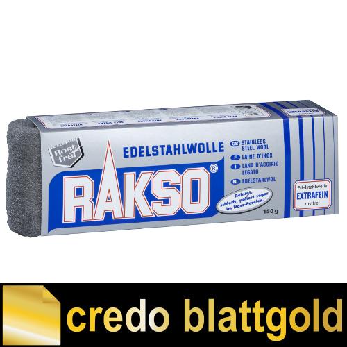 Rakso Edelstahlwolle Extra Fein - 150 g - Packung