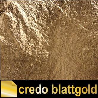 Schlagmetall Antikgold Farbe 2 lose - 100 Blatt